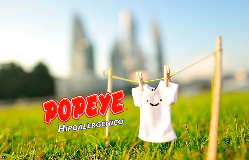 detergentes popeye hipoalergénico eco amigable