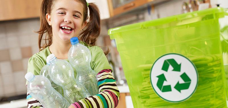 como enseñar reciclaje a los niños