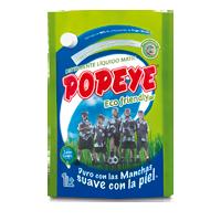 detergente popeye eco amigables en polvo hipoalergénicos