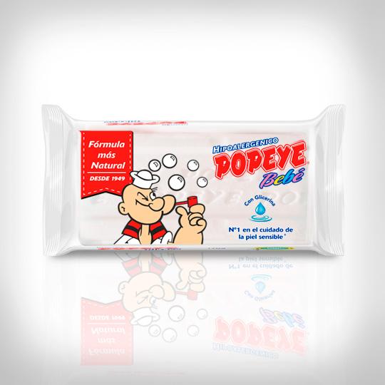 Jabón en barra Hipoalergénico Popeye Bebé
