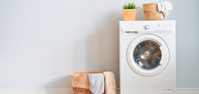 Es importante cuidar la lavadora