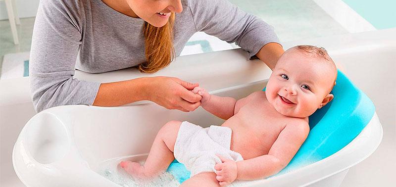 El baño del bebé debe disfrutarse en plenitud