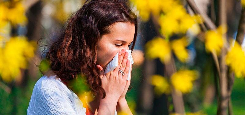 La alergia es bastante común
